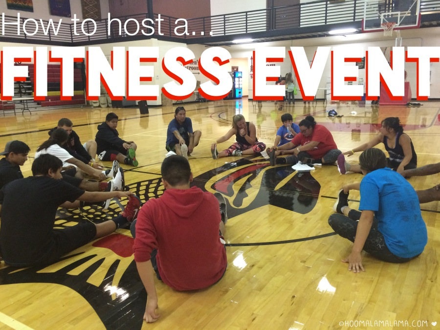 How to host a fitness event. Part 1/2