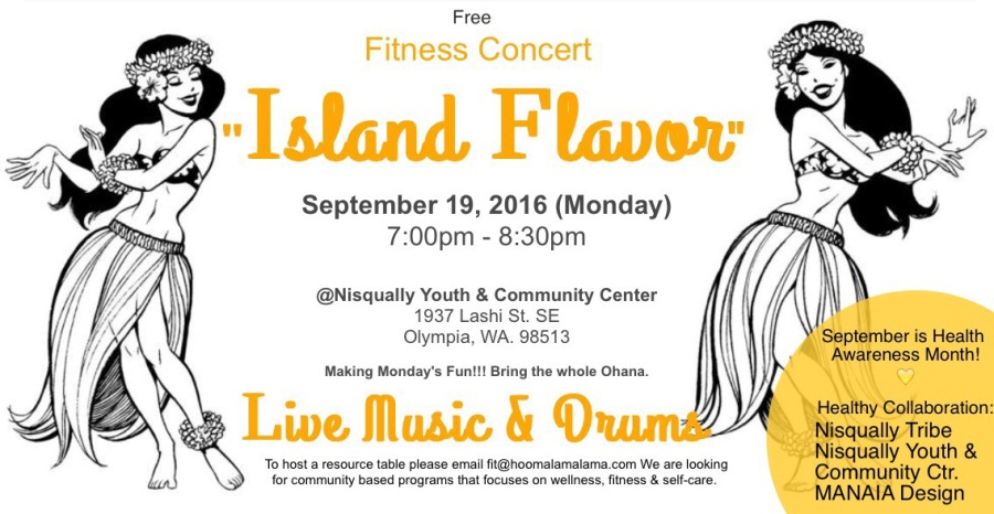 "Inspiration behind: Fitness Concert ""Island Style"""