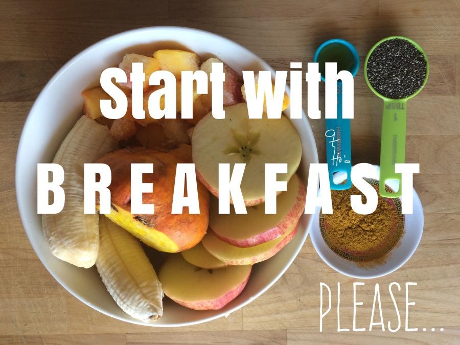 Stop having breakfastblues.