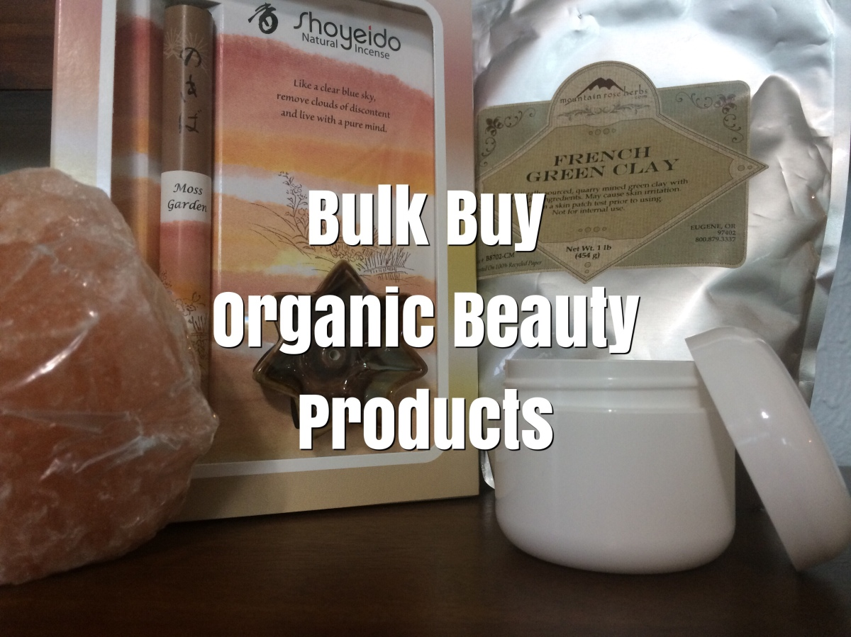 Bulk buy organic beauty products.